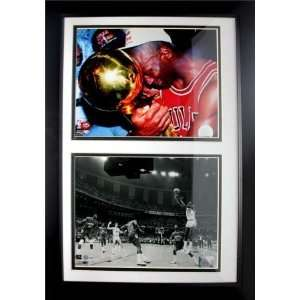 Encore Select 180 BSKMJ23 Michael Jordan UNC & Chicago Bulls 12x18