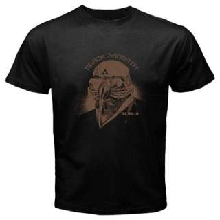 Black Sabbath Iron Man Tony Stark The Avengers Black T shirt FREE