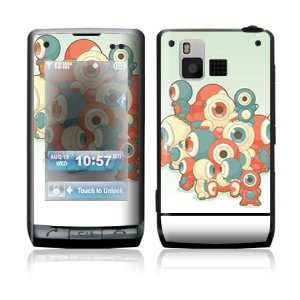 LG Dare VX9700 Skin Sticker Decal Cover   Round Eyes