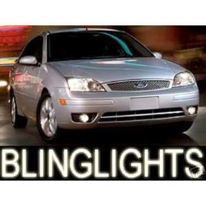 1998 2008 FORD FOCUS HALO FOG LIGHTS driving lamps hatchback lx sport