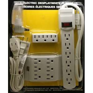 Breaker   3 Feet], 6 Feet Indoor Extension Cord Cable and Night Light