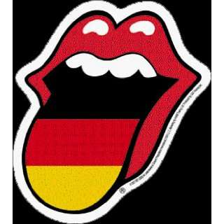 Rolling Stones   Germany Tongue   Sticker / Decal