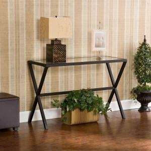 Southern Enterprises Exhilaration Metal Sofa Table
