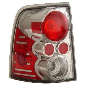 Anzo USA 211079 Ford Explorer Chrome Tail Light Assembly