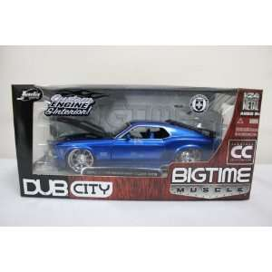 1970 Ford Mustang Boss 429 124 New Diecast Car Blue Toys