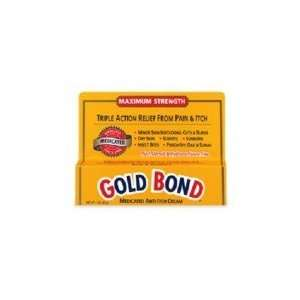 Gold Bond Medicated Anti Itch Cream 1oz Health & Personal
