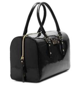 NWT New Authentic KATE SPADE Flicker Melinda Black Patent Leather