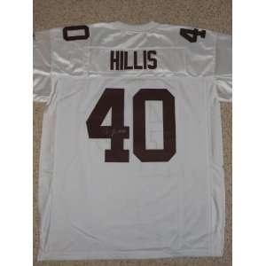 Peyton Hillis signed autographed Authentic jersey Cleveland Browns