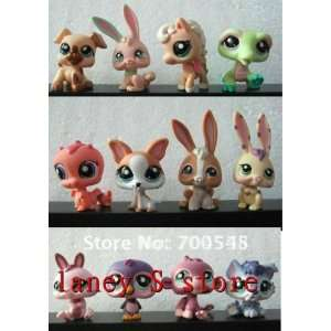 100pcs/lot hasbro littlest pet shop doll hasbro doll