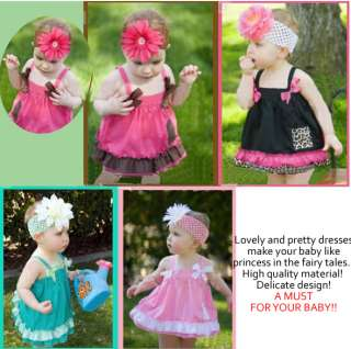 1Pc New Child Kid Infant Baby Girl Dress Skirt Petticoat Cloth Costume
