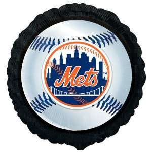 Lets Party By New York Mets Baseball Foil Balloon