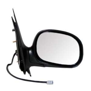 New Passengers Power Side View Mirror Glass Black/Chrome