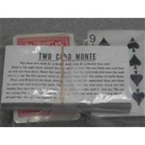 Two Card Monte  BRIDGE HK  Close Up Magic Trick Toys & Games