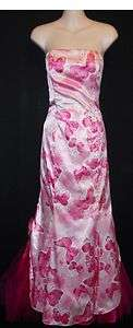 Jessica McClintock for Gunne Sax Size 7/8 Pink Strapless Formal Gown