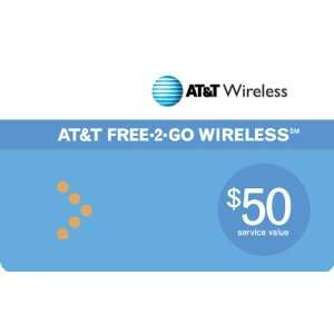 AT&T Prepaid $50 Refill Card Cell Phones & Accessories