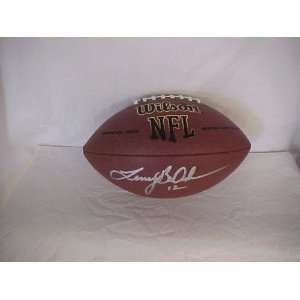 Terry Bradshaw Hand Signed Autographed Pittsburgh Steelers Full Size