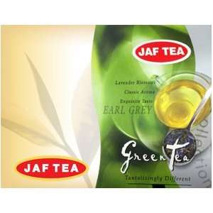 Jaf Tea Green Tea W/earl Grey Loose Tea Grocery & Gourmet Food