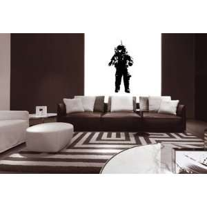 Vinyl Wall Art Decal Sticker Astronaut Moon Walk