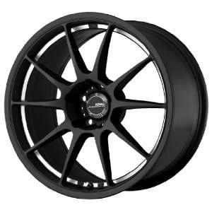Konig Milligram Matte Black Wheel with Machined Undercut
