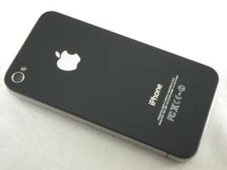 APPLE IPHONE 4 16GB 16 GB BLACK CELL PHONE AT&T GSM WIFI GPS CAMERA