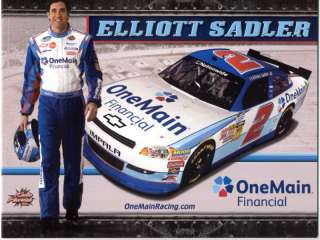 ELLIOTT SADLER 2011 ONE MAIN FINANCIAL #2 KHI POSTCARD