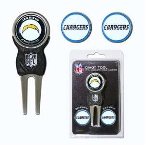 BSS   San Diego Chargers NFL Divot Tool Pack w/Signature