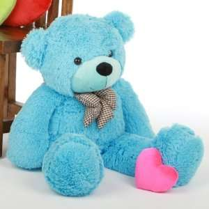 Huggable, Giant Teddy Sky Blue stuffed Plush teddy Bear Toys & Games