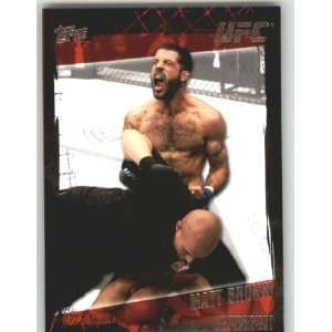 2010 Topps UFC Trading Card # 27 Matt Brown (Ultimate Fighting