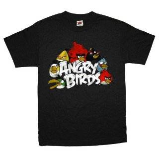 Angry Birds The Nest Logo Rovio Mobile Video Game T Shirt Tee