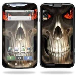 Vinyl Skin Decal Cover for Motorola Atrix 4G Cell Phone   Evil Reaper