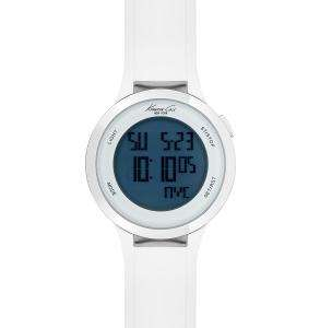 BRAND NEW KENNETH COLE TOUCH SCREEN WHITE RUBBER STRAP KC1666 NEW IN