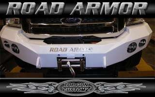 05 Ford Excursion Road Armor Stealth Series Base Front Bumper