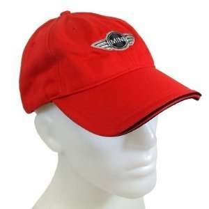 Genuine MINI Cooper Recycled Cap RED Automotive