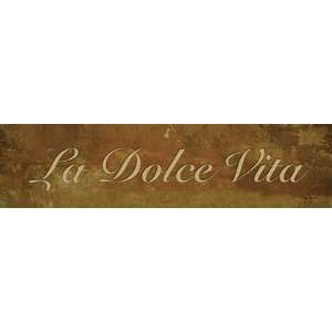 La Dolce Vita by John Jones 20x5