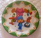 POCOYO Party Supplies FAVOR Birthday CAKE PLATES x12 Elephant Pato