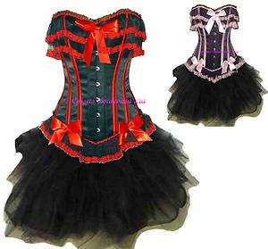 +SKIRT Valentine Outfit Costume SET Prom Goth SEXY Party Dress