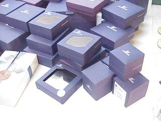 SWAROVSKI CRYSTAL~EMPTY BOXES for FIGURINES JEWELRY LOT