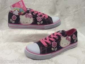 HELLO KITTY Girls GLITTER KITTY Youth Fashion Sneakers Shoes NIB msrp