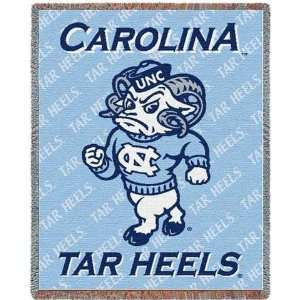 University of North Carolina Mini Mascot Throw