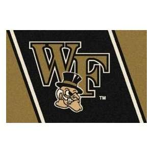 Milliken Wake Forest 2 8 x 3 10 black Area Rug