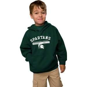Michigan State Spartans Youth Forest Recess Fleece Hooded