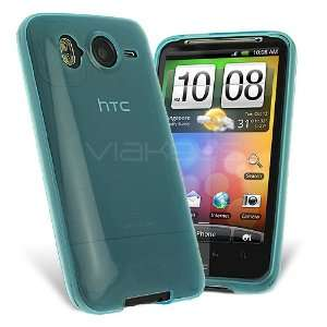 Celicious Sky Blue Premium Gel Case for HTC Desire HD with