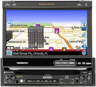 NEW JENSEN VM9414 CAR GPS NAVIGATION DVD CD 7 MONITOR