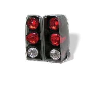 Cadillac Escalade 02 03 04 05 06 Altezza Tail Lights + Hi Power White