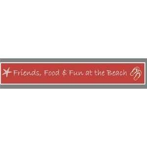 Friends, Food & Fun at the Beach