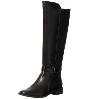 AK Anne Klein Womens Carlene Black Knee high Boots FINAL SALE