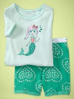 Baby&Toddler clothing girls pajamas Sleepwear kids PajamasMermaid
