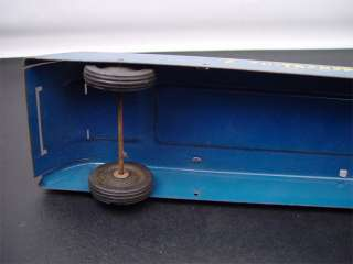 Wyandotte 1950s Auto Transport Toy Car Trailer Steel