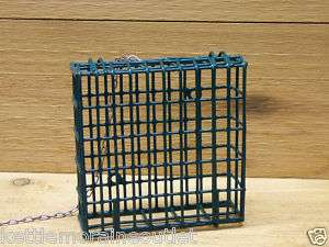 Single Suet Cage Wild Bird Feeder