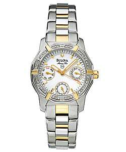 Bulova Marine Star Womens Quartz Watch